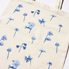 Wild Flowers Blue Tote Bag