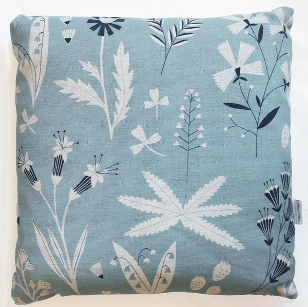 Wildflowers cushion by Rosie Moss