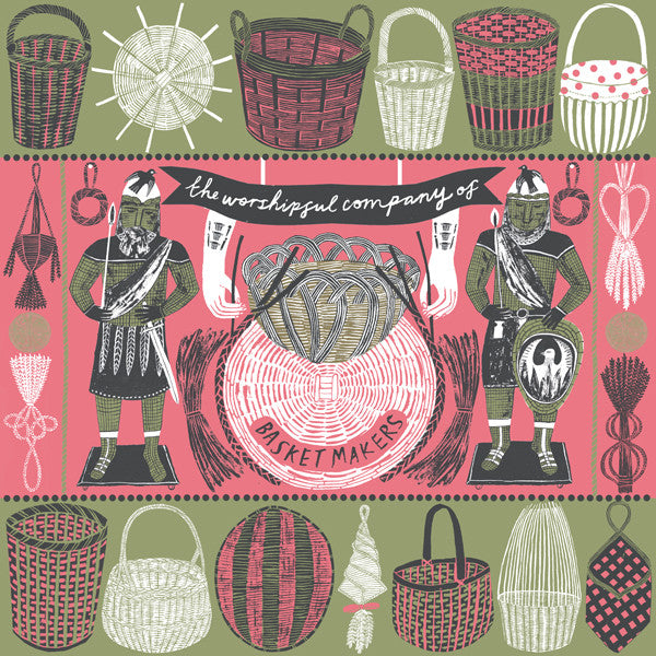 Basketmakers Print