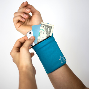 Wrist Locker™ - Wrist Wallet