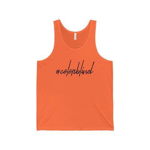 #colorblind - Unisex Tank