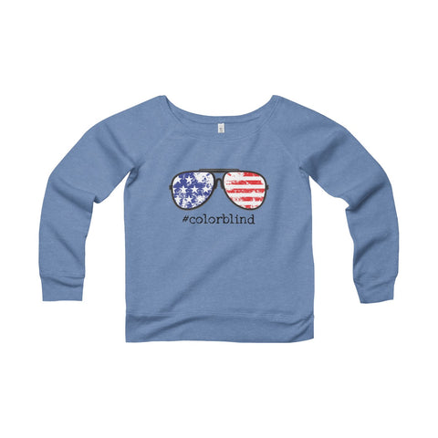 AMERICAN GLASSES - Women's Wide Neck Sweater