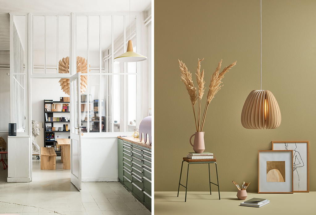 Atelier Schneid Organic Shapes Natural Materials And Pretty Cool De