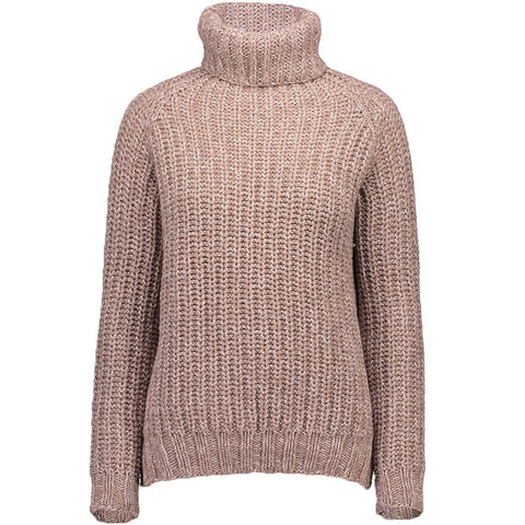 Allude: Pullover, Recycletes Kaschmir, Beige, Damen - the wearness