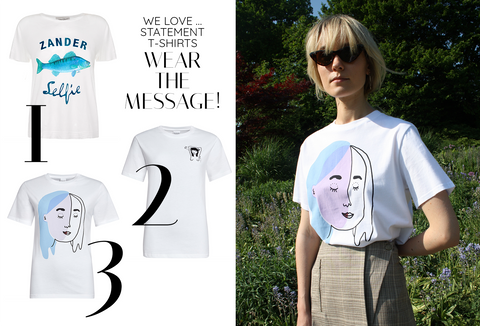 WE LOVE ... STATEMENT T-SHIRTS