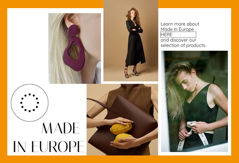 Mode und Accessoires Made in Europe