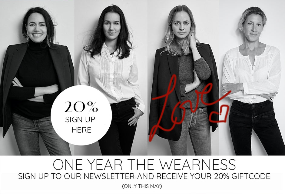 Newsletter Sign-up the wearness
