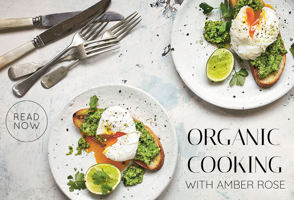 Organic cooking by amber rose