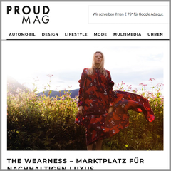 the wearness Proud Mag