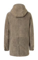 WERNER CHRIST: MUD COLORED SPORTY PARKA - the wearness