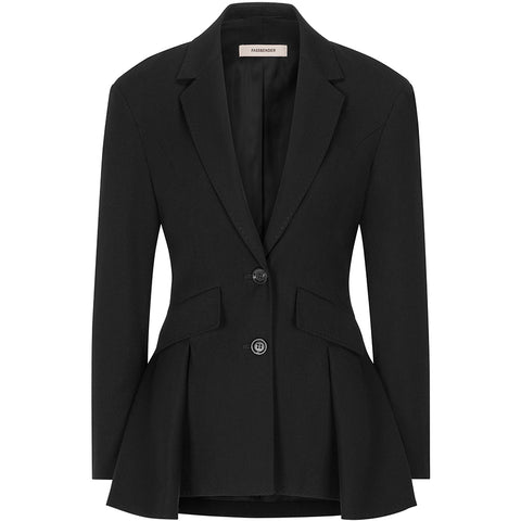FASSBENDER blazer, black, women, sustainable, fair, empowerment