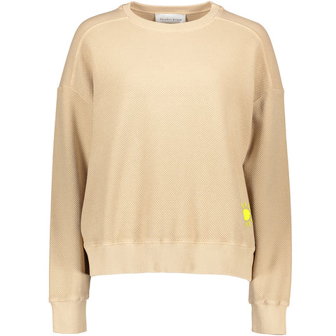 ANOTHER BRAND Sweatshirt in sand, Damenoberbekleidung, Baumwoll Pullover, Damenmode, Sweater, oversized Pullover, nachhaltige Mode, fairtrade, made in Europe, handcrafted, ecofriendly, organic, shop now - the wearness onlineshop