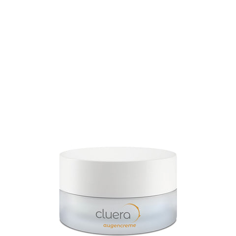 CLUERA Anti-Aging Augencreme, Sustainable Eye-Treatment, Naturkosmetik, Hautpflege, Anti-Aging Pflege, Vegan, Eco-friendly, Made in Europe, charitable, Nachhaltige Hautpflege, Sustainable Skincare - shop now - the wearness online-shop