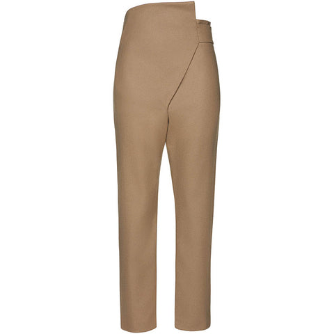 NOVE Hose in Beige mit elastischem Bündchen für Damen, moderne Umstandsmode, fair, made in Europe, eco-friendly, women empowerment - the wearness