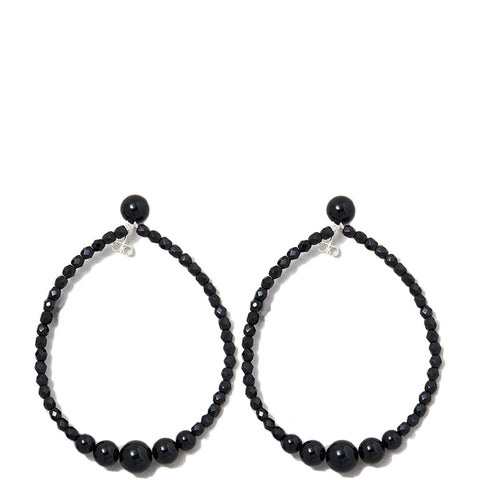 BLACK PEARLS EARRING