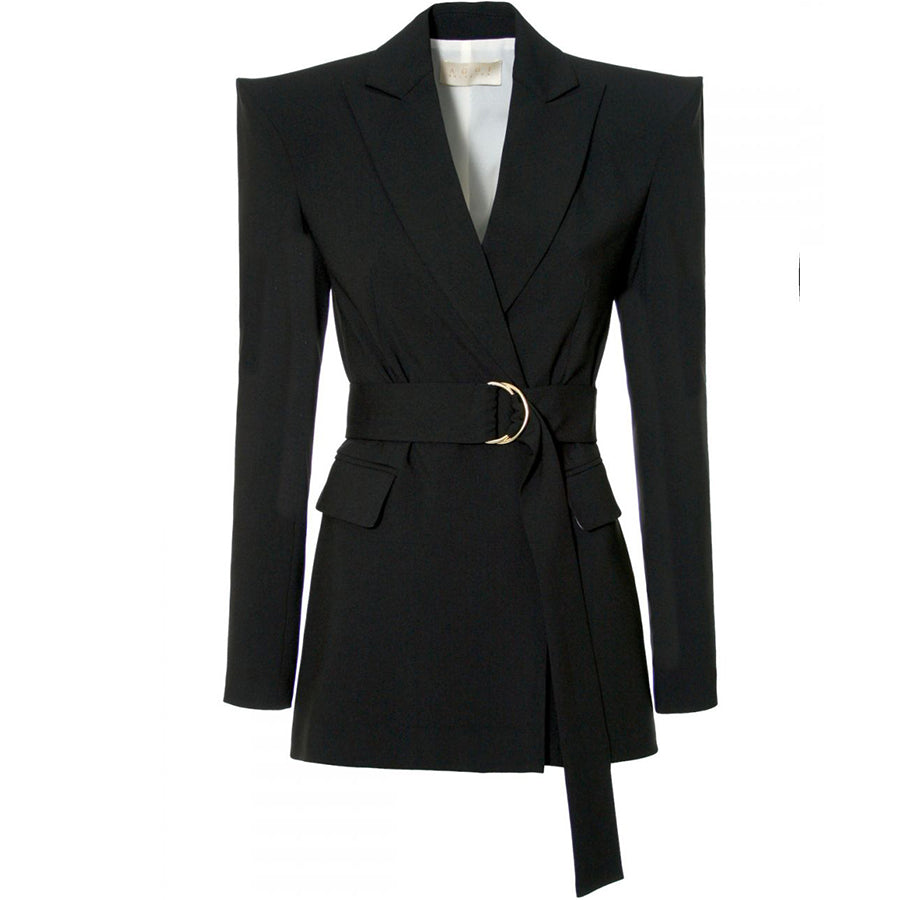 AGGI Blazer für Damen, Blazer mit stark akzentuierter Schulterpartie, Blazer für Frauen, Women clothing, made in Europe, Eco-friendly, fair, fair trade - shop now - the wearness online-shop - Sustainable and Ethical Luxury Fashion