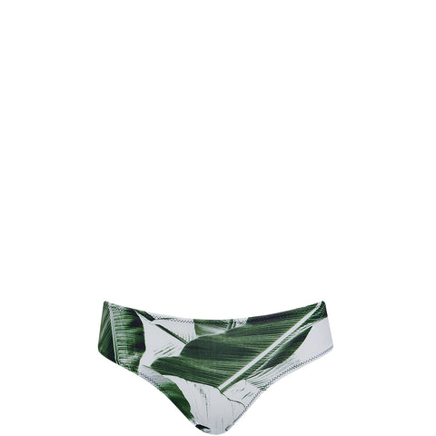SERPENTINA Bikini-Hose mit Bananenblatt Muster,Bademoden für Damen, Handmade, Handcrafted, fair, fair trade, female empowerment, eco-friendly, charitable - shop now - the wearness online-shop