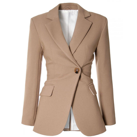 AGGI BLAZER IN NATURAL, WOMEN, FAIR, ECO-FRIENDLY - the wearness