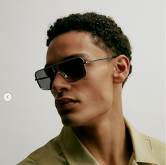 VIU EYEWEAR Sonnenbrille in Silber, UV-Schutz, Sunglasses, Eyewear, Accessoires, Made in Europe, fair, fair trade, handmade, handcrafted - FAIR & SUSTAINABLE LUXURY FASHION - Shop now - the wearness online-shop