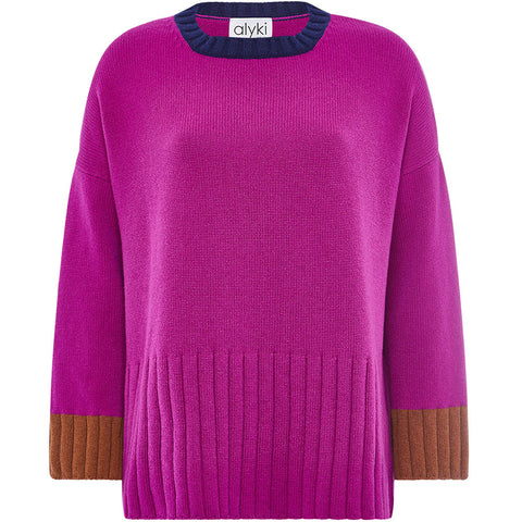 ALYKI ROUNDNECK SWEATER