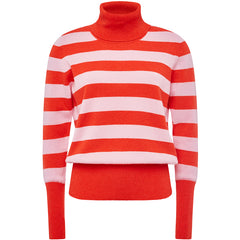 ALYKI: STRIPED CASHMERE SWEATER