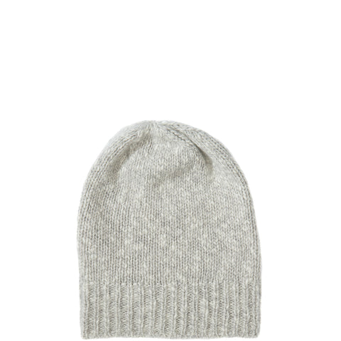 PETIT CALIN: BEANIE IN DUSTMELANGE FOR WOMEN, CASHMERE - the wearness