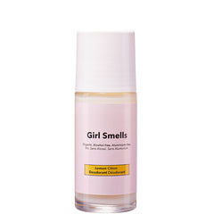 GIRL SMELLS Deo Roller ohne Alkohol und Aluminium, Lemon Duft, Vegan, organic, eco-friendly, made in Europe, female Empowerment - the wearness online-shop