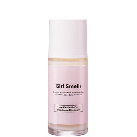 GIRL SMELLS Deo Roller, Vanille und Mandarinen Duft, van, organic, eco-friendly, female empowerment, made in Europe - the wearness online-shop
