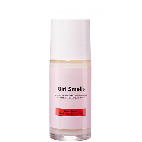 GIRL SMELLS Deo Roller, Ylang Ylang, Organic, vegan, eco-friendly, made in Europe, female empowerment - the wearness online-shop