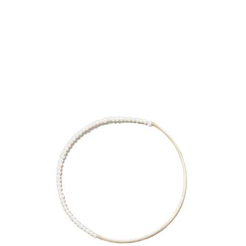 SASKIA DIEZ: Perlen besetztes Armband aus Gold für Damen, handcrafted, fair, made in Europe - the wearness online-shop