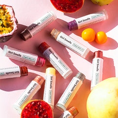 GIRL SMELLS Organischer Lippenbalsam für trockene und anspruchsvolle Lippen, organic, eco-friendly, made in Europe, vegan - the wearness online-shop