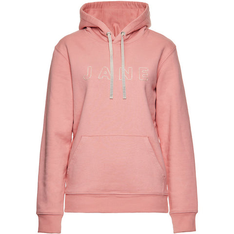 LILLY INGENHOVEN Rosa Hoodie für Damen mit bestickter Vorderseite, Eco-friendly, fair, fair trade, Handmade, handcrafted, made in Europe  shop now- the wearness online-shop - Sustainable & Fair Luxury Fashion