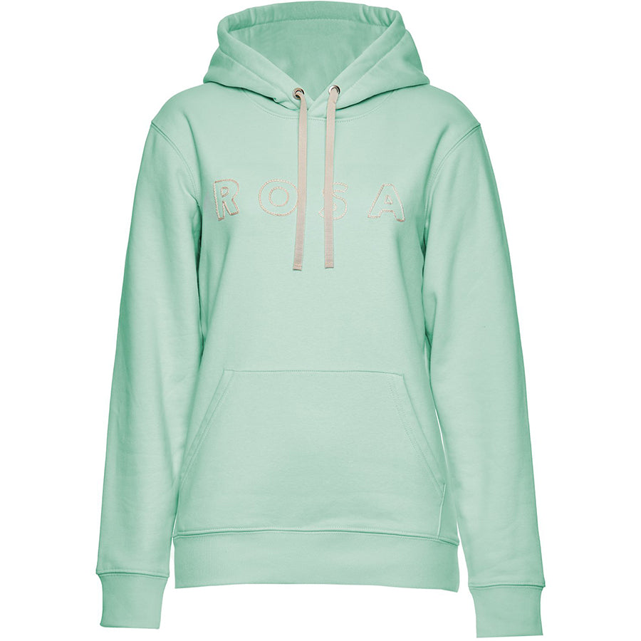 LILLY INGENHOVEN  Hoodie für Damen mit bestickter Vorderseite In Mint-grün, Eco-friendly, fair, fair trade, Handmade, handcrafted, made in Europe  shop now- the wearness online-shop - Sustainable & Fair Luxury Fashion