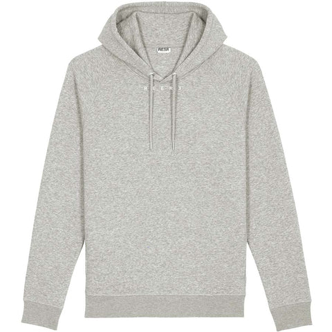 REER3 Hoodie in Grau für Damen und Herren, fair, vegan, unisex, eco-friendly, organic, recycled - the wearness online-shop