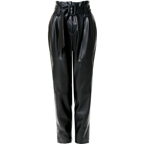 AGGI VEGAN LEATHER PANTS