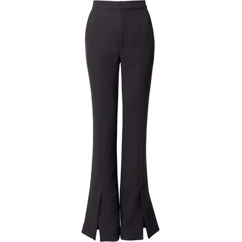 AGGI PANTS IN BLACK, WOMEN, FAIR, ECO-FRIENDLY - the wearness