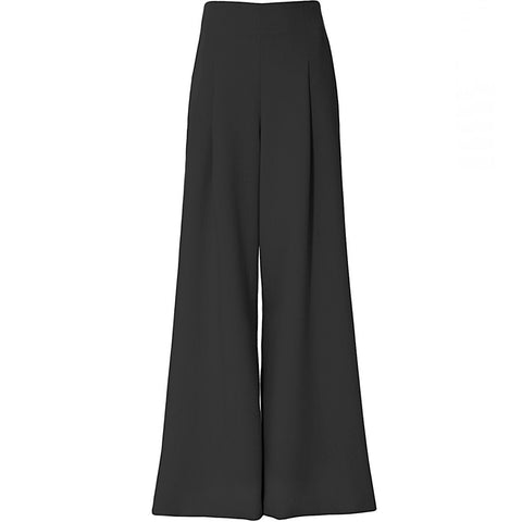 AGGI High-waisted Hose mit weitem Bein, Elegante Hose mit hoher Taille und weitem Bein, Hosen für Damen, Women clothing, made in Europe, Eco-friendly, fair, fair trade - shop now - the wearness online-shop - Sustainable and Ethical Luxury Fashion