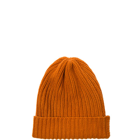 PETIT CALIN: BEANIE IN ORANGE FOR WOMEN, CASHMERE, FAIR - the wearness