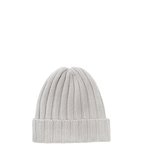 PETIT CALIN: BEANIE IN SNOW FOR WOMEN, CASHMERE, RIPPED-the wearness