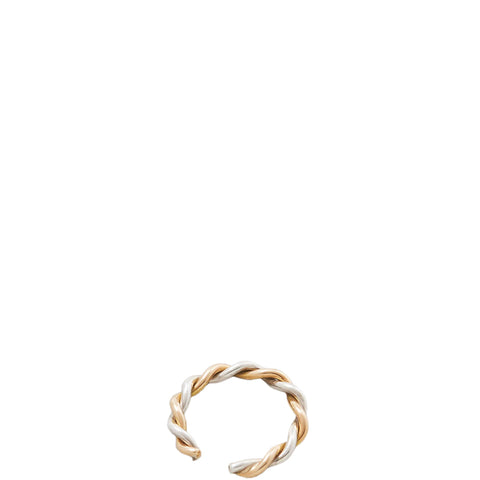 SASKIA DIEZ Earcuff oder Ring aus Gold und Silber für Damen, handmade, fair, vegan, made in Europe - the wearness online-shop