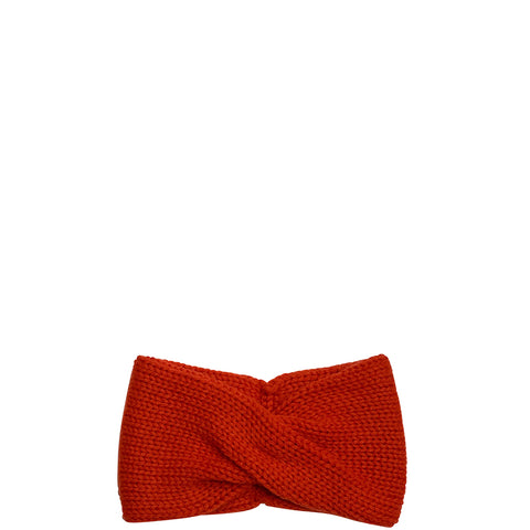PETIT CALIN: HEADBAND IN RED FOR WOMEN, CASHMERE - the wearness