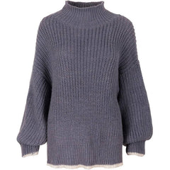 COARSE KNIT ALPACA SWEATER
