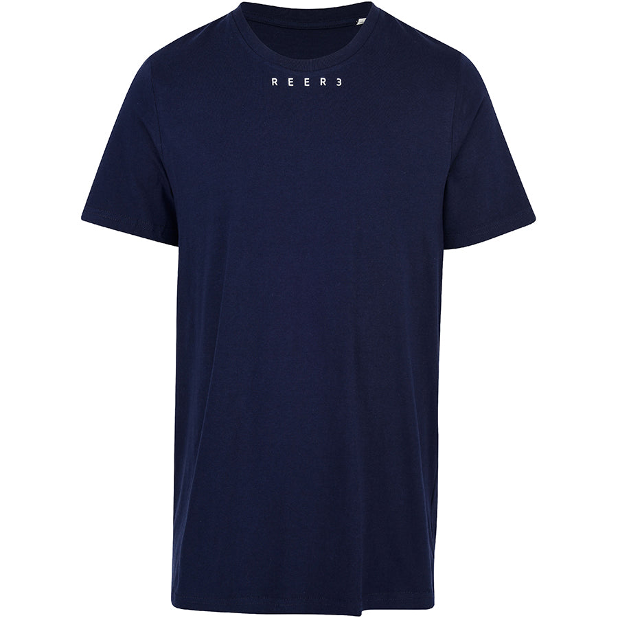 REER3 Basic T-Shirt aus Bio-Baumwolle in navy für Damen und Herren, unisex, eco-friendly, organic, vegan, fair - the wearness online-shop