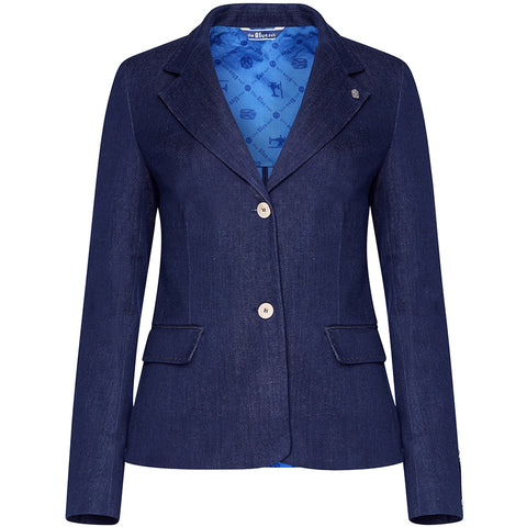 Organic Cotton Jeans Blazer von the blue suit