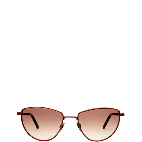 VIU EYEWEAR Sonnenbrille in Bordeaux, UV-Schutz, Sunglasses, Eyewear, Accessoires, Made in Europe, fair, fair trade, handmade, handcrafted - FAIR & SUSTAINABLE LUXURY FASHION - Shop now - the wearness online-shop