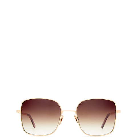 VIU EYEWEAR Sonnenbrille in mattem Rosegold, UV-Schutz, Sunglasses, Eyewear, Accessoires, Made in Europe, fair, fair trade, handmade, handcrafted - FAIR & SUSTAINABLE LUXURY FASHION - Shop now - the wearness online-shop