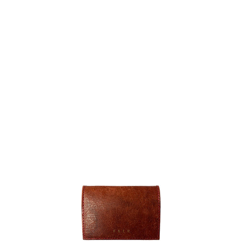 SCHUMANNS BAR LEATHER WALLET IN RED
