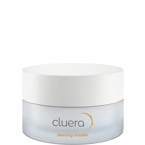 CLUERA Peeling Maske mit Safe-Scrub-Technologie, Vegan, Eco-friendly, Made in Europe, charitable, Nachhaltige Hautpflege, Sustainable Skincare - shop now - the wearness online-shop