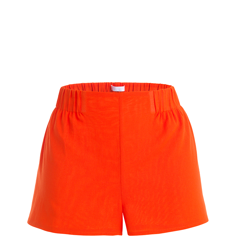 Casa Nata – Light Shorts in bright orange – The wearness