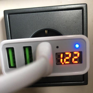 Smart USB Charger With LED Display